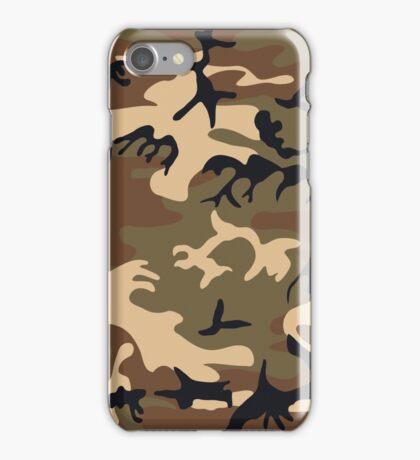 Cool Modern Camouflage Camo Design iPhone Case/Skin