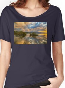 Stormy Sunset Reflections Women's Relaxed Fit T-Shirt