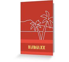 Hawaii in Heaven Greeting Card