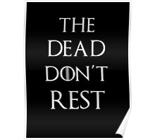 Game of thrones The dead don't rest Poster
