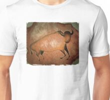 Bull like cave painting - primitive art Unisex T-Shirt