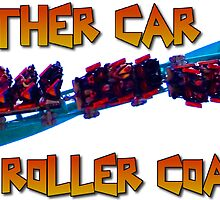 Roller Coaster Enthusiast Decal by MontagnaMagica