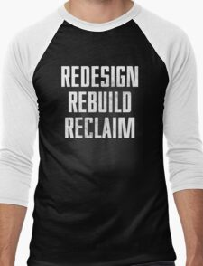Seth Rollins - Redesign Rebuild Reclaim Men's Baseball ¾ T-Shirt