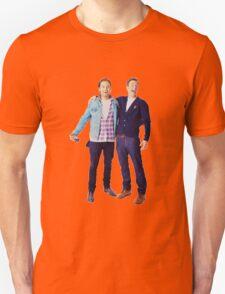 Chris Evans and Sebastian Stan Unisex T-Shirt