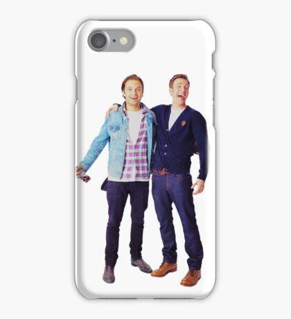 Chris Evans and Sebastian Stan iPhone Case/Skin