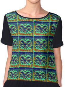 Indus valley seal Chiffon Top