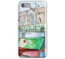 Whitby Fishing boat iPhone Case/Skin