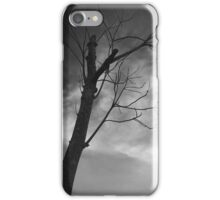 Calm before the storm iPhone Case/Skin