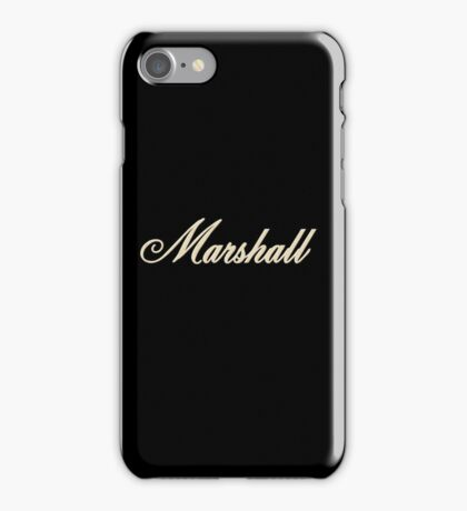 Vintage Bold Marshall iPhone Case/Skin