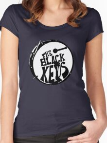 The Black Key Women's Fitted Scoop T-Shirt