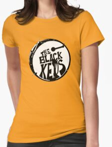 The Black Key Womens Fitted T-Shirt