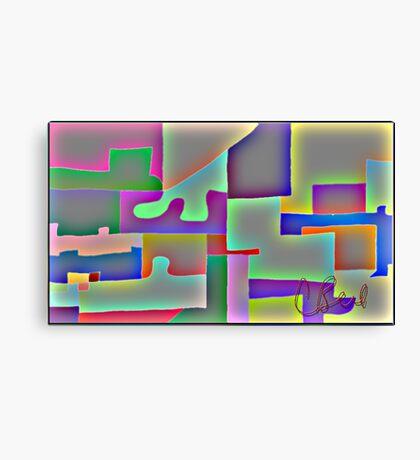 Blocks of Blocks Canvas Print