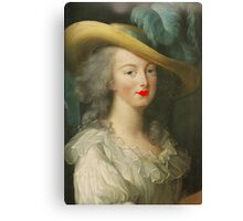 Marie Antoinette - Hot lips!  Canvas Print
