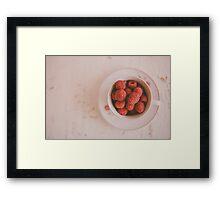 Raspberries Framed Print