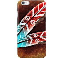 Colorful Feather iPhone Case/Skin