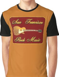 San Fransisco Rock Music Graphic T-Shirt