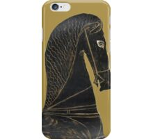 ancient greek horse iPhone Case/Skin