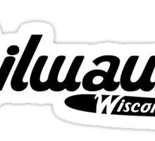 Milwaukee Wisconsin Vintage Logo Sticker