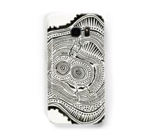 Peachleaf Willow – Black Ink Samsung Galaxy Case/Skin