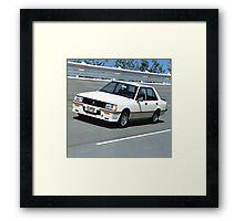 Mitsubishi Lancer 2000 Turbo Framed Print