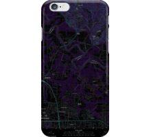 USGS TOPO Map Alabama AL Willow Springs 20110927 TM Inverted iPhone Case/Skin