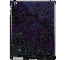 USGS TOPO Map Alabama AL Willow Springs 20110927 TM Inverted iPad Case/Skin