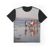 Afternoon stroll at Pismo Beach Graphic T-Shirt