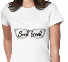 Book Geek Womens Fitted T-Shirt