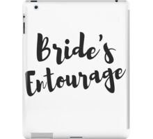 Bride's Entourage Bachelorette Party Gifts iPad Case/Skin