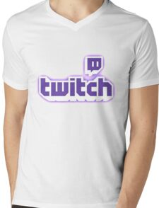 Inverted twitch Mens V-Neck T-Shirt