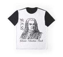 J.S.B (Johann Sebastian Bach) Graphic T-Shirt