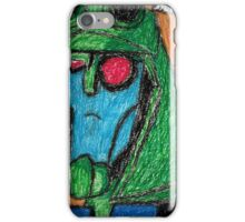Colored Transformers Animated Blitzwing iPhone Case/Skin