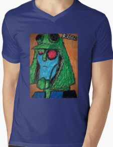 Colored Transformers Animated Blitzwing Mens V-Neck T-Shirt