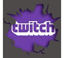 Twitch Smash Photographic Print