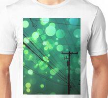 Power Lines graphic design Unisex T-Shirt