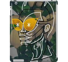 The Girl Who Rocked The Yellow Shades iPad Case/Skin