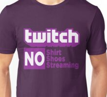 Twitch rules Unisex T-Shirt