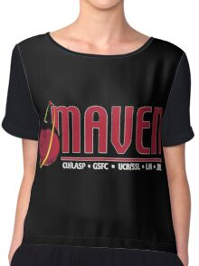 Mars Atmosphere and Volatile EvolutioN Mission (MAVEN) Logo Chiffon Top