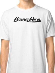 Buenos Aires Argentina Vintage Logo Classic T-Shirt