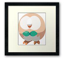 Rowlet (Pokemon) Framed Print
