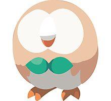 Rowlet (Pokemon) Photographic Print
