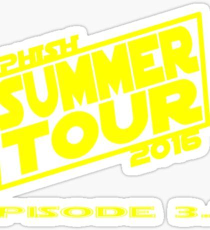 Phish Summer Tour 2016 Sticker