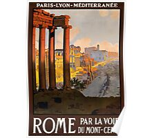 Rome Par Va Loi Du Mont-Cenis Poster