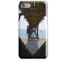 Selsey East Lifeboat Launching Station iPhone Case/Skin