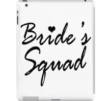Bride's Squad Bachelorette Party Gifts iPad Case/Skin