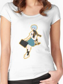 00 Rei Ayanami Women's Fitted Scoop T-Shirt