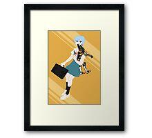 00 Rei Ayanami Framed Print