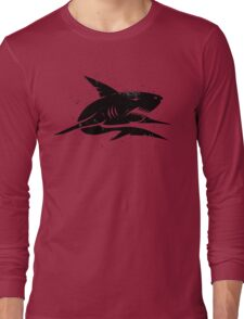 black shark Long Sleeve T-Shirt