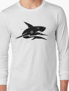 black shark Long Sleeve T-Shirt
