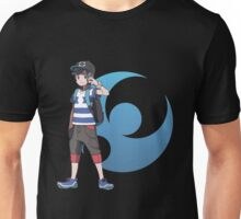 Pokémon Sun and Pokémon Moon - Trainer (Male) w/ Moon Logo Unisex T-Shirt